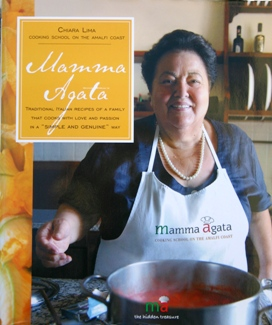 Cover Mamma Agata cookbook