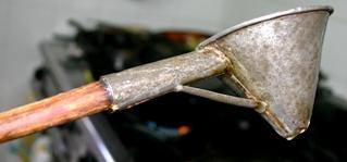 Handmade funnel