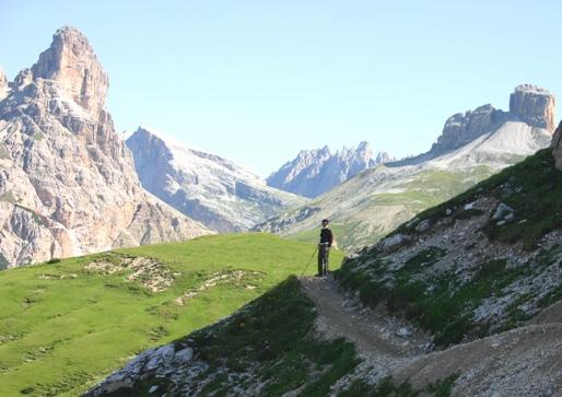 Tre Cime di Lavaredo Dolomites Trail