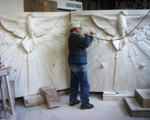 Pietrasanta marble studio
