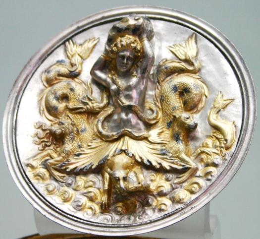 silver hoard Morgantina