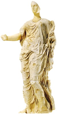 goddess of morgantina sicily