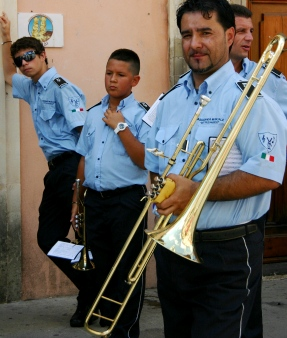 Festvial band in Sicily