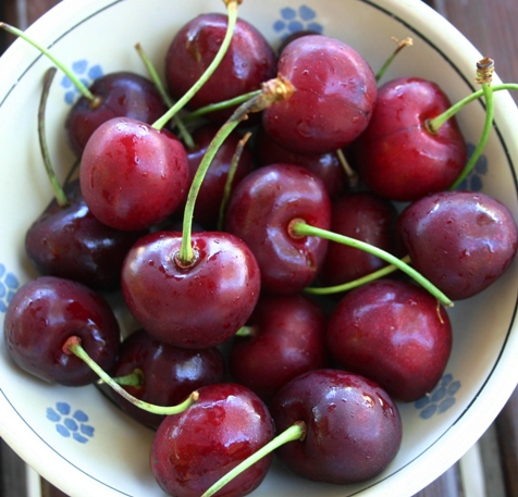 bowl railway cherries