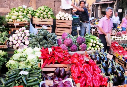 Market in Sicily